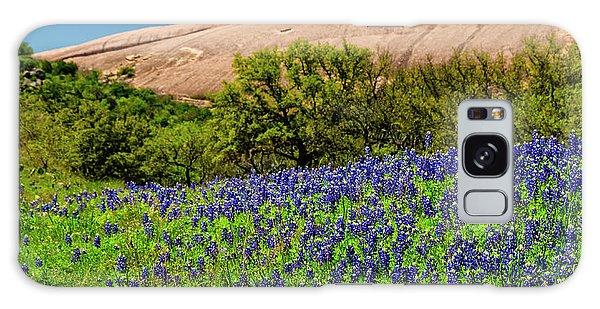 Texas Bluebonnets And Enchanted Rock 2016 Galaxy Case