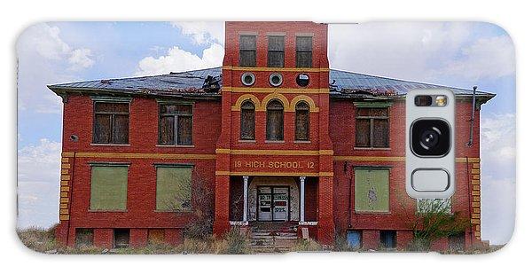 Texas Ghost Town School  Galaxy Case