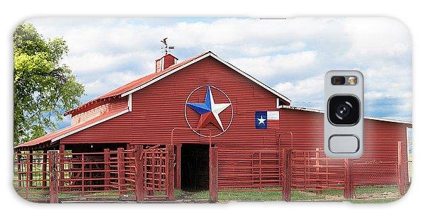 Texas Red Barn Galaxy Case