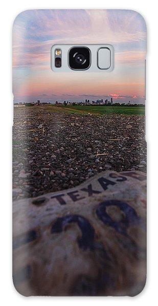 Texas Tags Galaxy Case