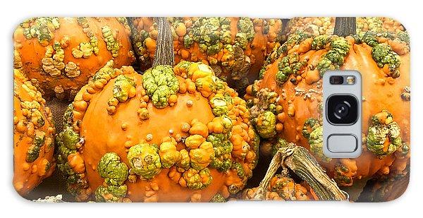 Textured Pumpkins  Galaxy Case