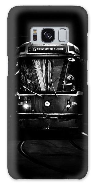 The 505 Dundas Streetcar Toronto Canada Galaxy Case