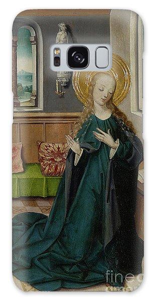 Annunciation Galaxy Case - The Annunciation, 1490 by German School