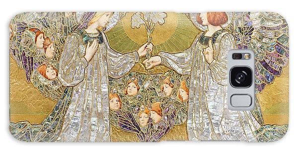 Annunciation Galaxy Case - The Annunciation by Frank Pickford Marriott