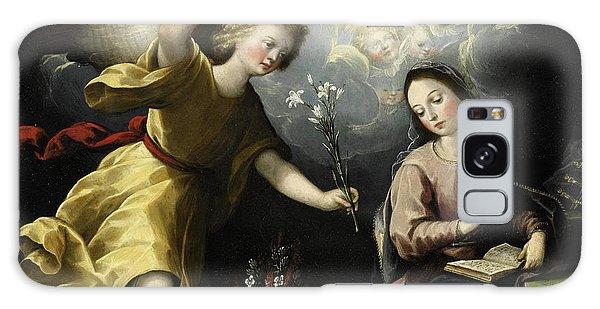Annunciation Galaxy Case - The Annunciation by Luis Juarez