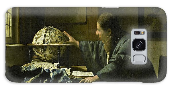 Jan Vermeer Galaxy Case - The Astronomer, 1668 by Jan Vermeer