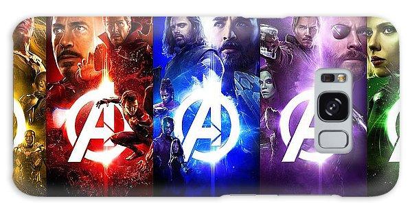 The Avengers Galaxy Case - The Avengers Infinity War Movie  by Geek N Rock