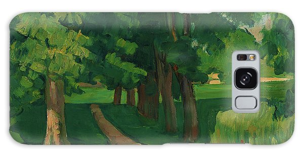 Country Living Galaxy Case - The Avenue At The Jas De Bouffan - Digital Remastered Edition by Paul Cezanne