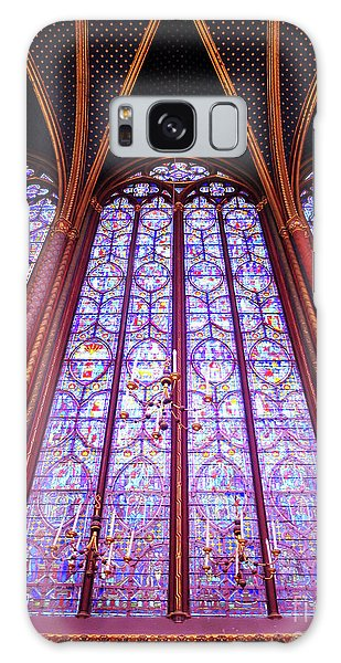 Galaxy Case featuring the photograph The Awe Of Sainte Chappelle by Rick Locke