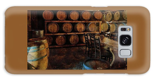 Galaxy Case featuring the photograph The Barrel Room by Thom Zehrfeld