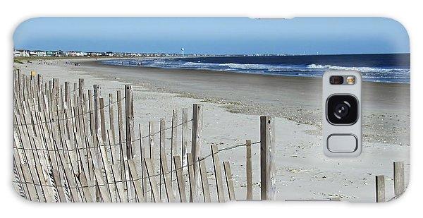 The Beach At Holden Beach North Carolina Galaxy Case