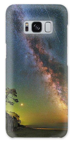 The Beach Galaxy Case