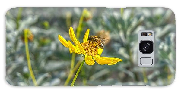 The Bee The Flower Galaxy Case