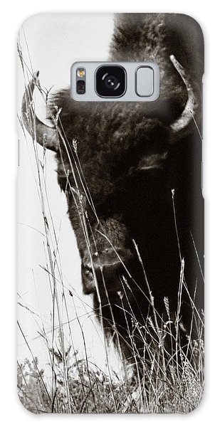 Galaxy Case featuring the photograph The Bison Roaming The Grasslands In Custer State Park South Dakota United States Of America by Gerlinde Keating - Galleria GK Keating Associates Inc