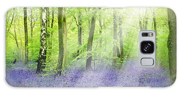 The Bluebell Woods Galaxy Case