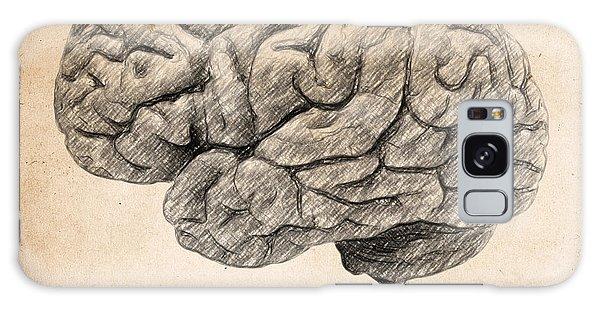 Decorative Galaxy Case - The Brain Is Wider Than The Sky by Zapista Zapista