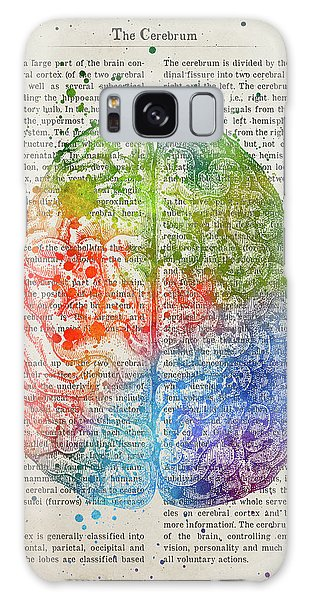 Cerebral Galaxy Case - The Cerebrum Anatomy Illustration 03 by Aged Pixel