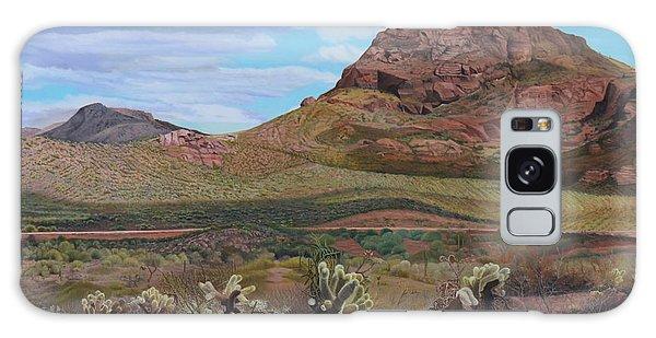 The Cholla At Mount Mcdowell, Arizona Galaxy Case
