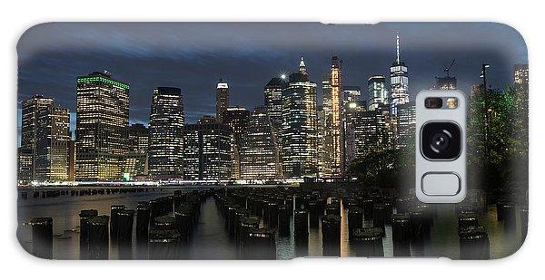 The City Alight Galaxy Case