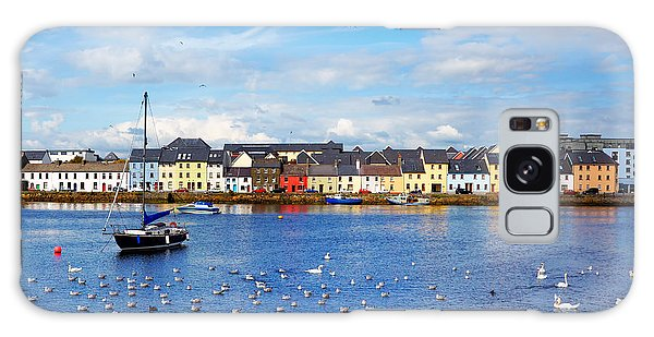 Summertime Galaxy Case - The Claddagh In Galway City During by Gabriela Insuratelu