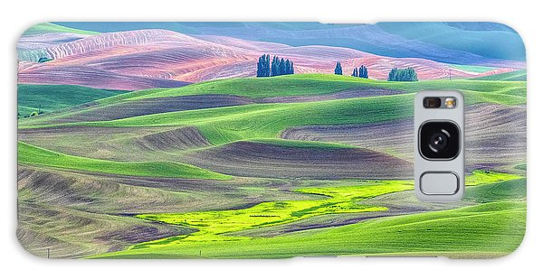The Color Palette Of The Palouse Galaxy Case