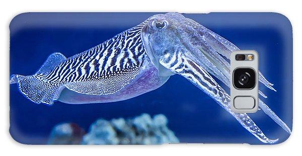 Scuba Diving Galaxy Case - The Common European Cuttlefish Sepia by David Litman