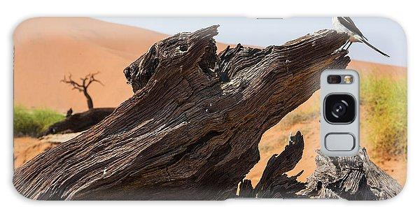 Desert Flora Galaxy Case - The Desert Landscape by Stanislavbeloglazov