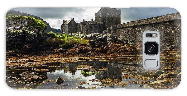 Fairy Pools Galaxy Case - The Eilean Donan Castle by Debra and Dave Vanderlaan