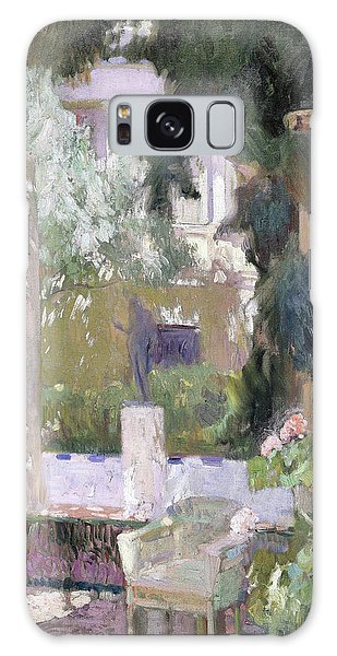 Country Living Galaxy Case - The Gardens At The Sorolla Family House - Digital Remastered Edition by Joaquin Sorolla