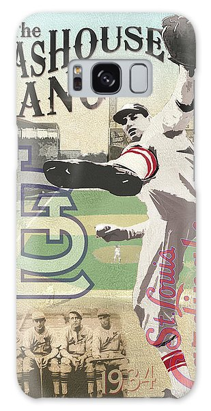 Sportsman Galaxy Case - The Gashouse Gang - St. Louis Cardinals by Aswego Arts