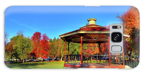 Galaxy Case featuring the photograph The Gazebo At Reaney Park by David Patterson