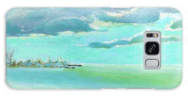 Old Florida Galaxy Case - The Gulf, The Clouds, The Pier by Catherine Twomey
