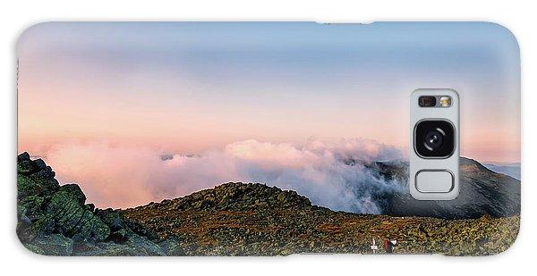The Hiker - Mt Jefferson, Nh Galaxy Case