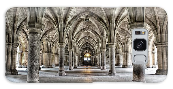 Scottish Galaxy Case - The Historic Cloisters Of Glasgow by Jane Rix