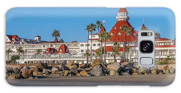 The Hotel Del Coronado San Diego Galaxy Case
