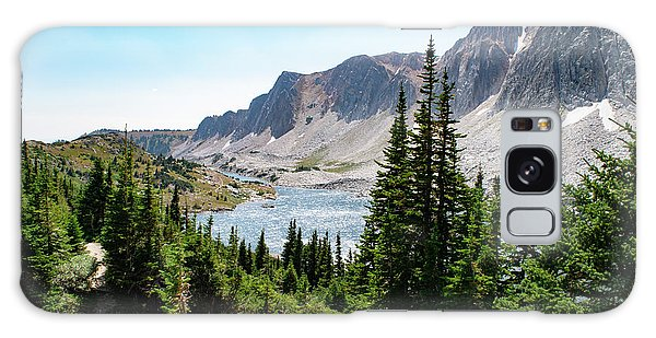 The Lakes Of Medicine Bow Peak Galaxy Case