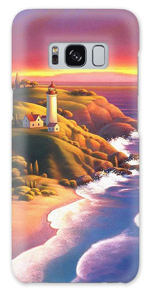 The Light House  Galaxy Case