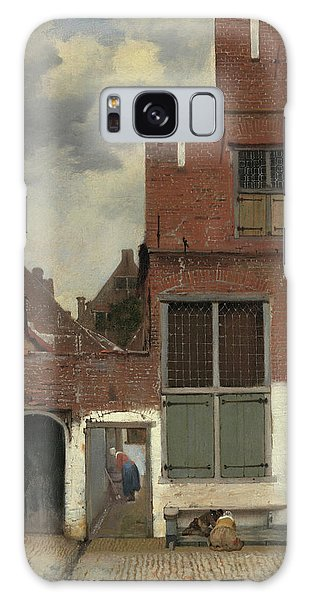 Jan Vermeer Galaxy Case - The Little Street, 1658 by Jan Vermeer