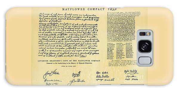 The Mayflower Compact  Galaxy Case