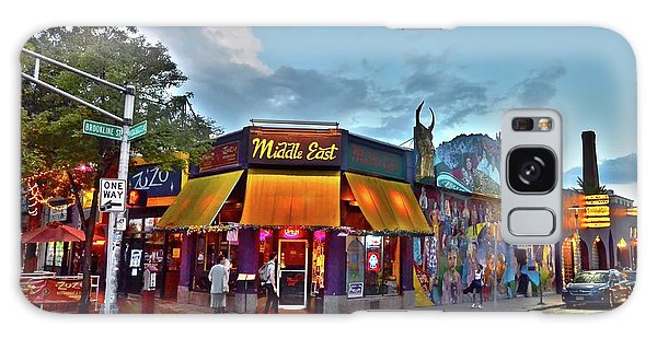 The Middle East In Cambridge Central Square Dusk Galaxy Case