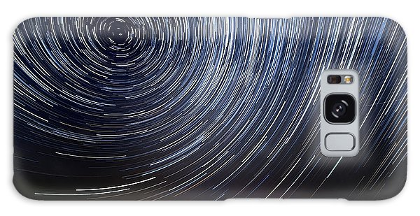 Galaxy Galaxy Case - The Motion Of Stars Around Pole Star In by Alexussk