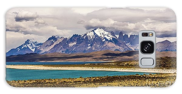 The Mountains Of Torres Del Paine National Park, Chile Galaxy Case
