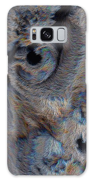 The Old Owl That Watches Galaxy Case