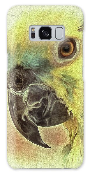 Galaxy Case featuring the photograph The Parrot Sketch by Leigh Kemp