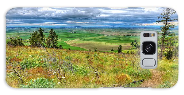 Galaxy Case featuring the photograph The Path Down Kamiak Butte by David Patterson