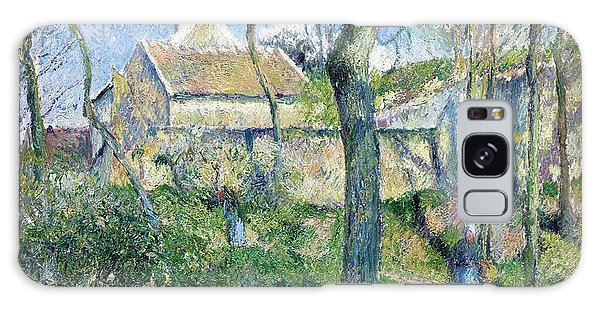 Country Living Galaxy Case - The Path To Les Pouilleux, Pontoise - Digital Remastered Edition by Camille Pissarro