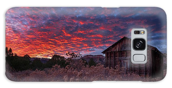 Galaxy Case featuring the photograph The Perfect Sunset by Edgars Erglis