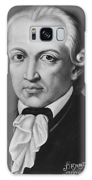 Philosopher Galaxy Case - The Philosopher Immanuel Kant by German School
