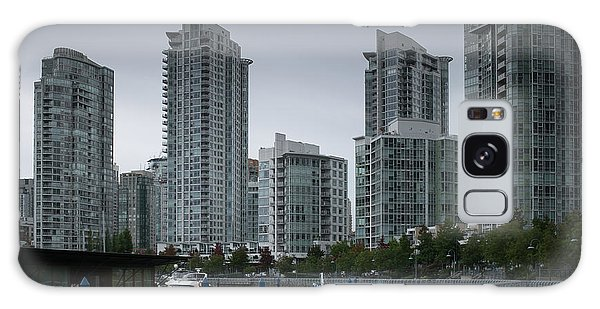 The Quayside Marina - Yaletown Apartments Vancouver Galaxy Case