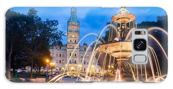 Quebec City Galaxy Case - The Quebec Parliament Building And The by Maurizio De Mattei